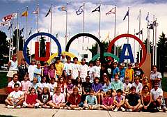 1989 colorado camp with us team coaches tom amp lori forster olympian